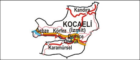 Interaktif kocaeli haritası